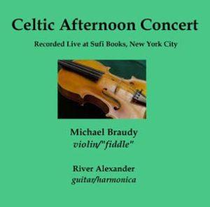 CD Celtic Afternoon Concert outside liner SCREEN displays